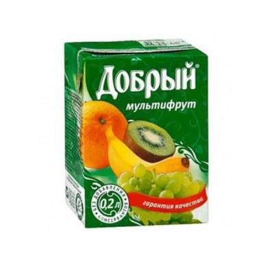 Сок ДОБРЫЙ в ассортименте 0,2л_0