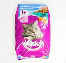 Вискас c Кроликом и вкусными подушечками 1,9 кг