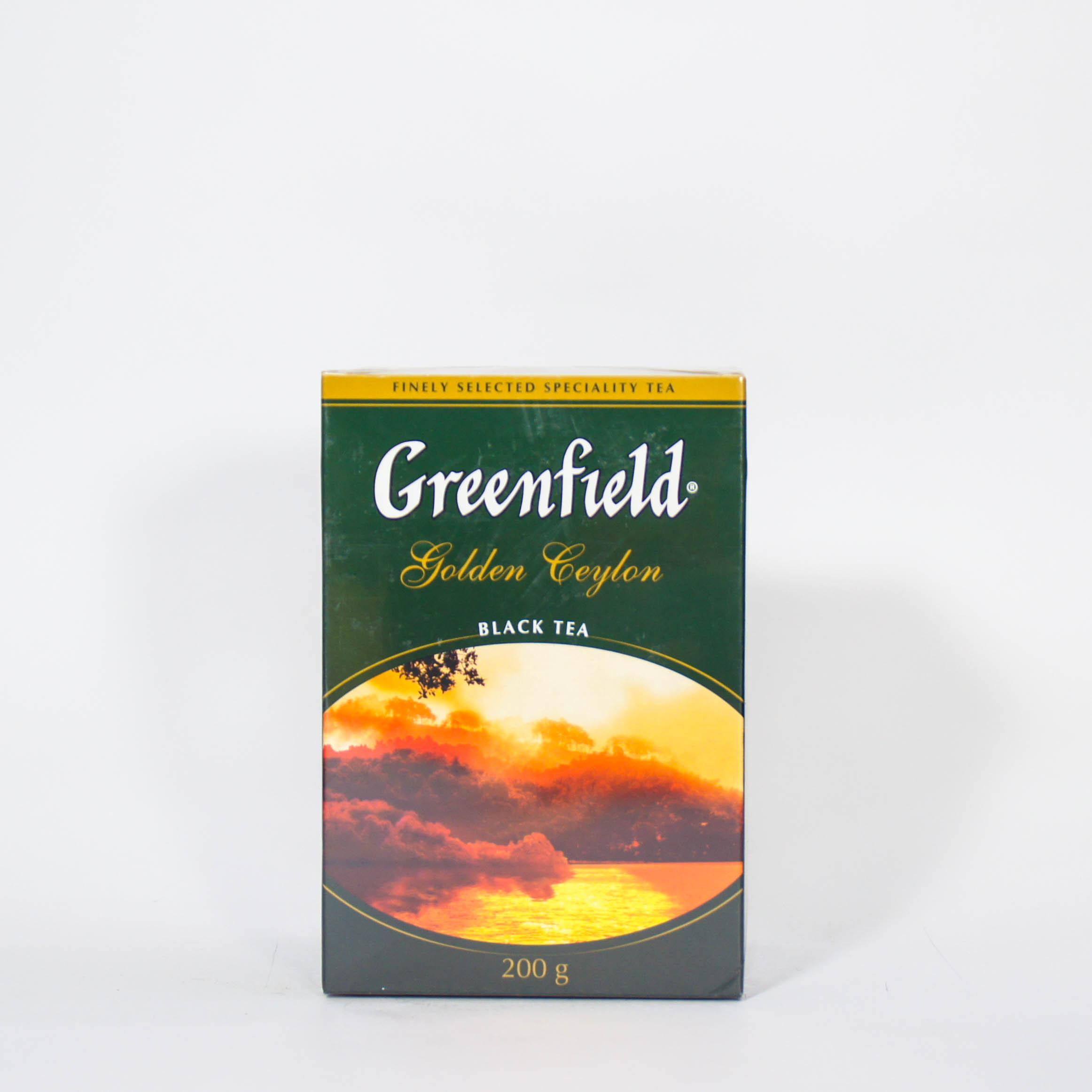 чай черный голден цейлон